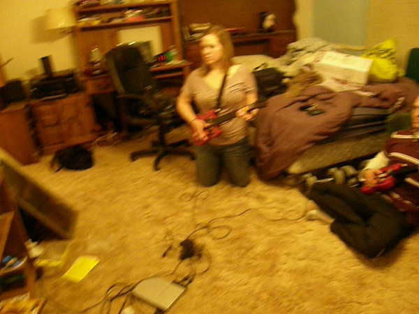 Getting down with Guitar Hero!