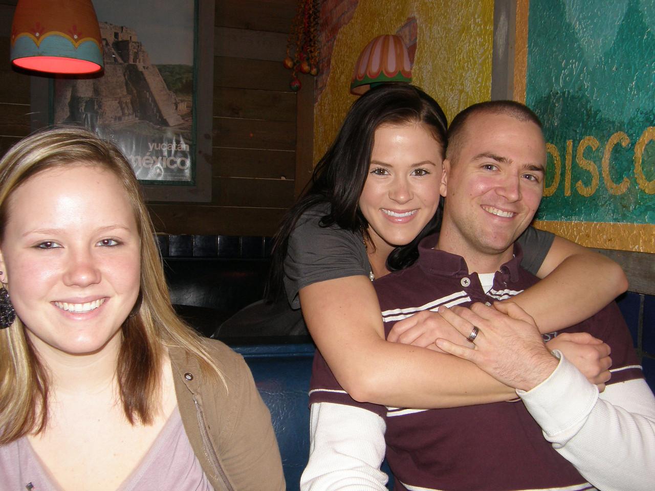 Katie, Sarah, and Luke Casa Ole!