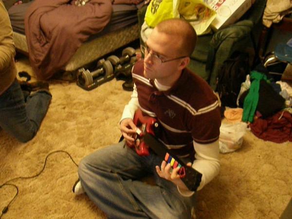 Guitar Heroing!