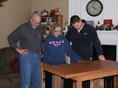 Christmas 2011 with Sarah and Dave