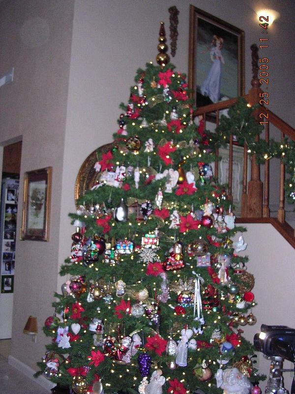 Patricia and Jeff's beautiful Christmas tree.