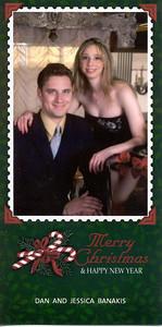 2006-12 Merry Christmas -Dan and Jessica Banakis