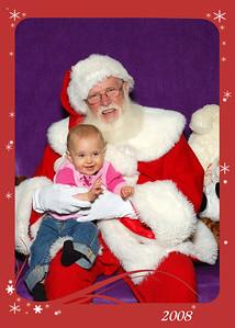20081203 Sophia and Santa