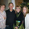 L to R...Ben, Ron, Lori and Rebekah. Jeremiah is in New Jersey on a ship. We all had a chance to wish him a Merry Christmas on a video phone call on Ron's computer.
