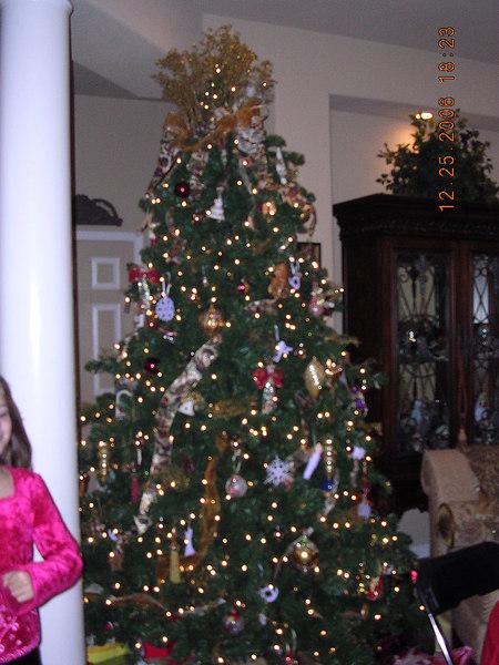 Lori's beautiful Christmas tree.