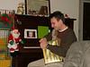 Kamenko opens his present