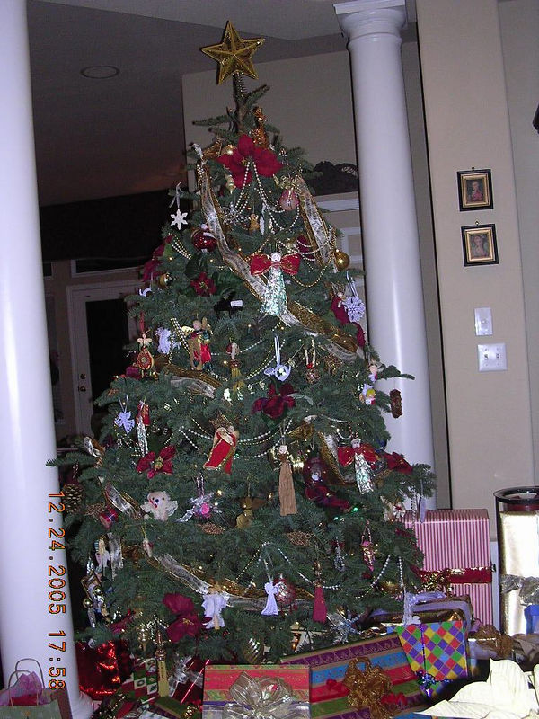 Here is Ron and Lori's beautiful Christmas Tree.