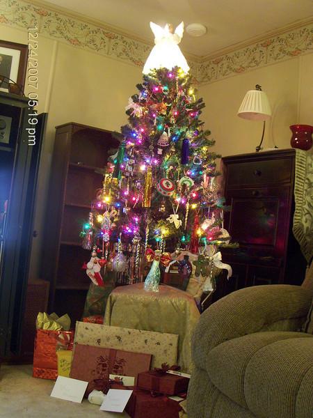 My tree...no flash.