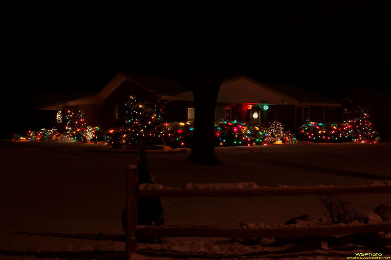 Some eye-catching Christmas decorations near my home.