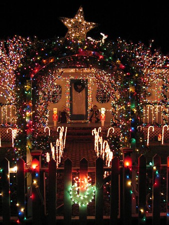 Christmas Lights, Marin County 2003