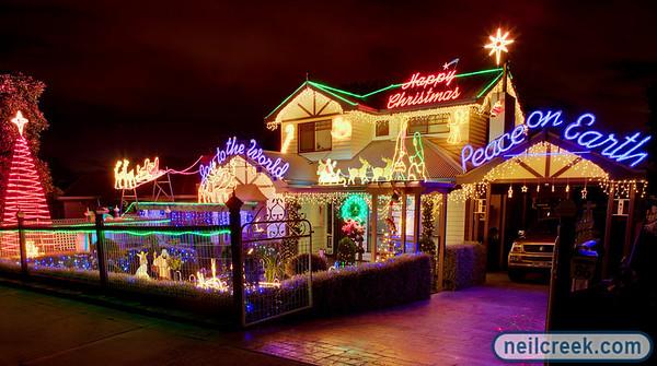 Christmas Lights Orchard Grove