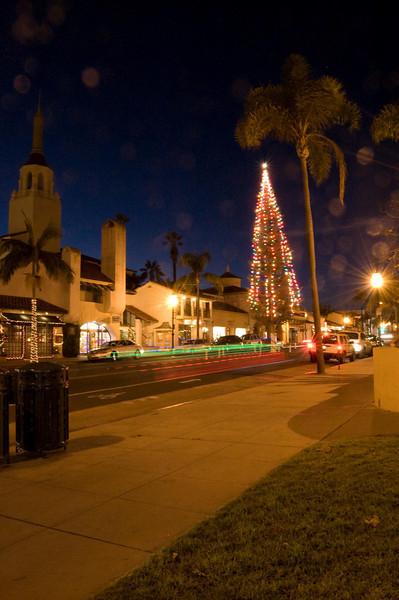 Christmas Tree and The Arlington Theater