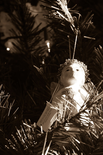 Is there something wrong with a Christmas Angel ornament made in China?  View in X3 and you can read the tag.  MN company, China made