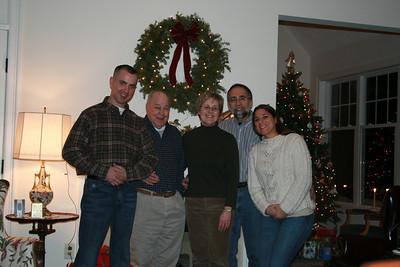 Lisa and Michael Christmas Visit 2008
