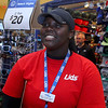 Store manager for Lids Savaree Chaney talks about the how sales have been for them this holiday season at the Mall at Whitney Field. SENTINEL & ENTERPRISE/JOHN LOVE