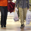 Many were still out shopping on Monday at the Mall at Whitney Field in Leominster. SENTINEL & ENTERPRISE/JOHN LOVE