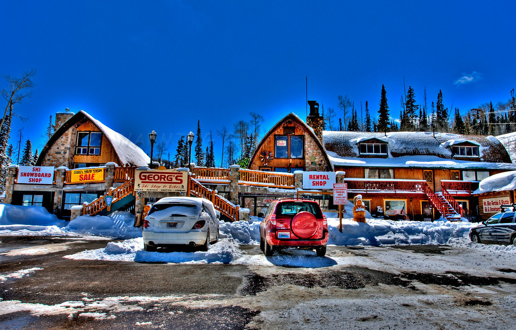 The Place to go for Skis in Brain Head .... Georg's
