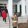Lynn at the DeMunil Mansion.