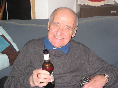 To kick of the Christmas season Gail and Chris hosted a delicious Brunch.  Here is my Dad enjoying a brunch beer.