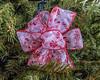 Christmas tree:  Operation Lifesavers tree; ribbon detail