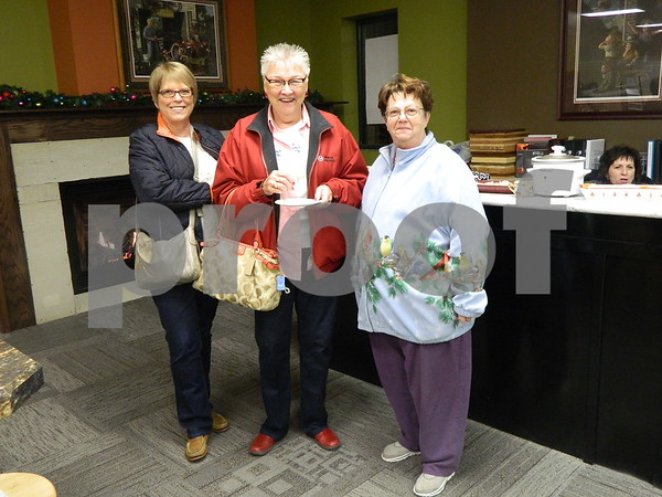 left to right: Nancy Riehl, Carol Heathering, and Judy Guderian