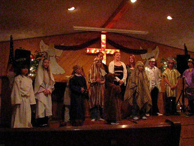 Christmas at Seldovia Bible Chapel 2009