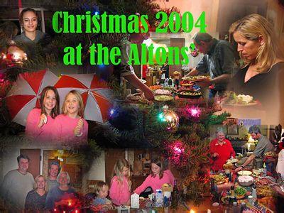 Christmas at the Alton home Dec. 2004