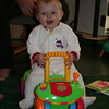 Violet on her car again.