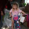 Fern got a bigger bike.