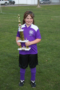 Allie's first season in AYSO