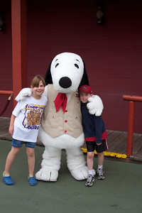 Allie and Matt at Knott's Camp Snoopy