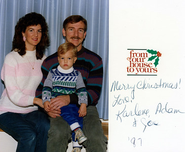 Christmas cards & letters 1987 - present