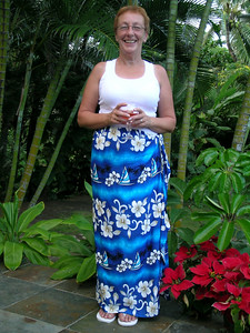 Hmm not sure I will be wearing this sarong too often.