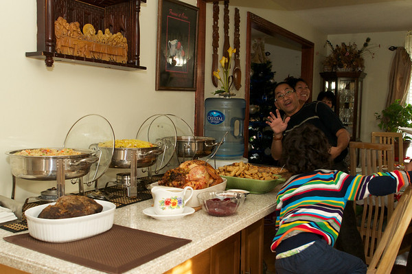 Filipino Christmas spread