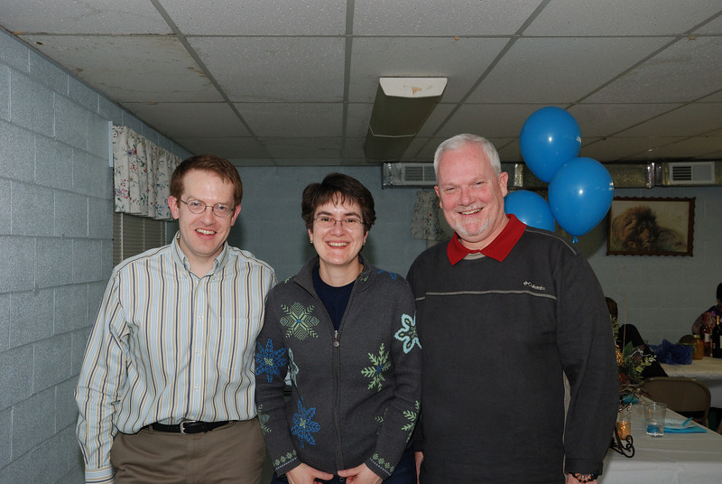 Matt, Lale, and Doug Graham