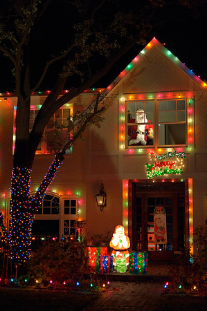 Christmas lights, 11 December 2010