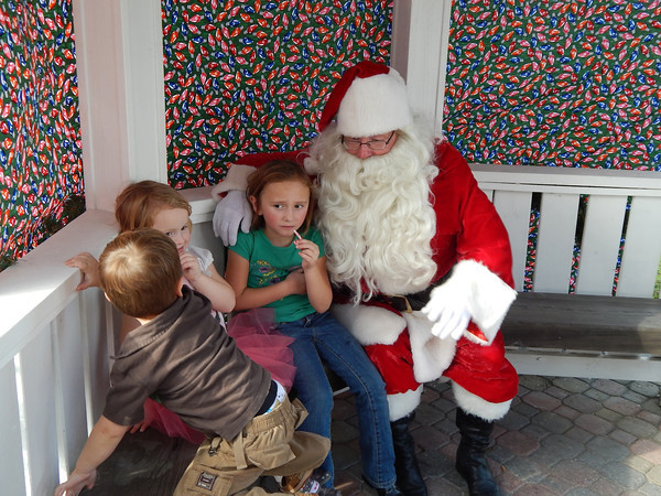 Christmas on the Square 2013 scenes