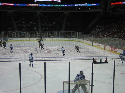 when the NHL shuts down, it is time to watch minor league hockey!