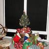 Christmas tree and gifts