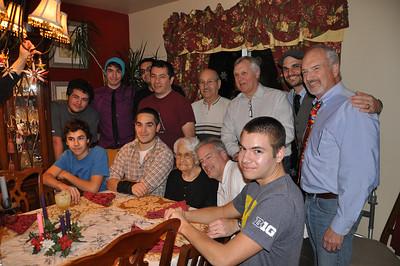 Valdez family men sans Adam