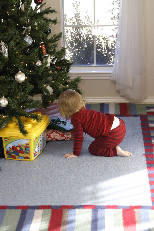 Christmas morning.  Presents.