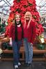 Sarah and Sydney's annual Christmas trip to Molbaks nursury