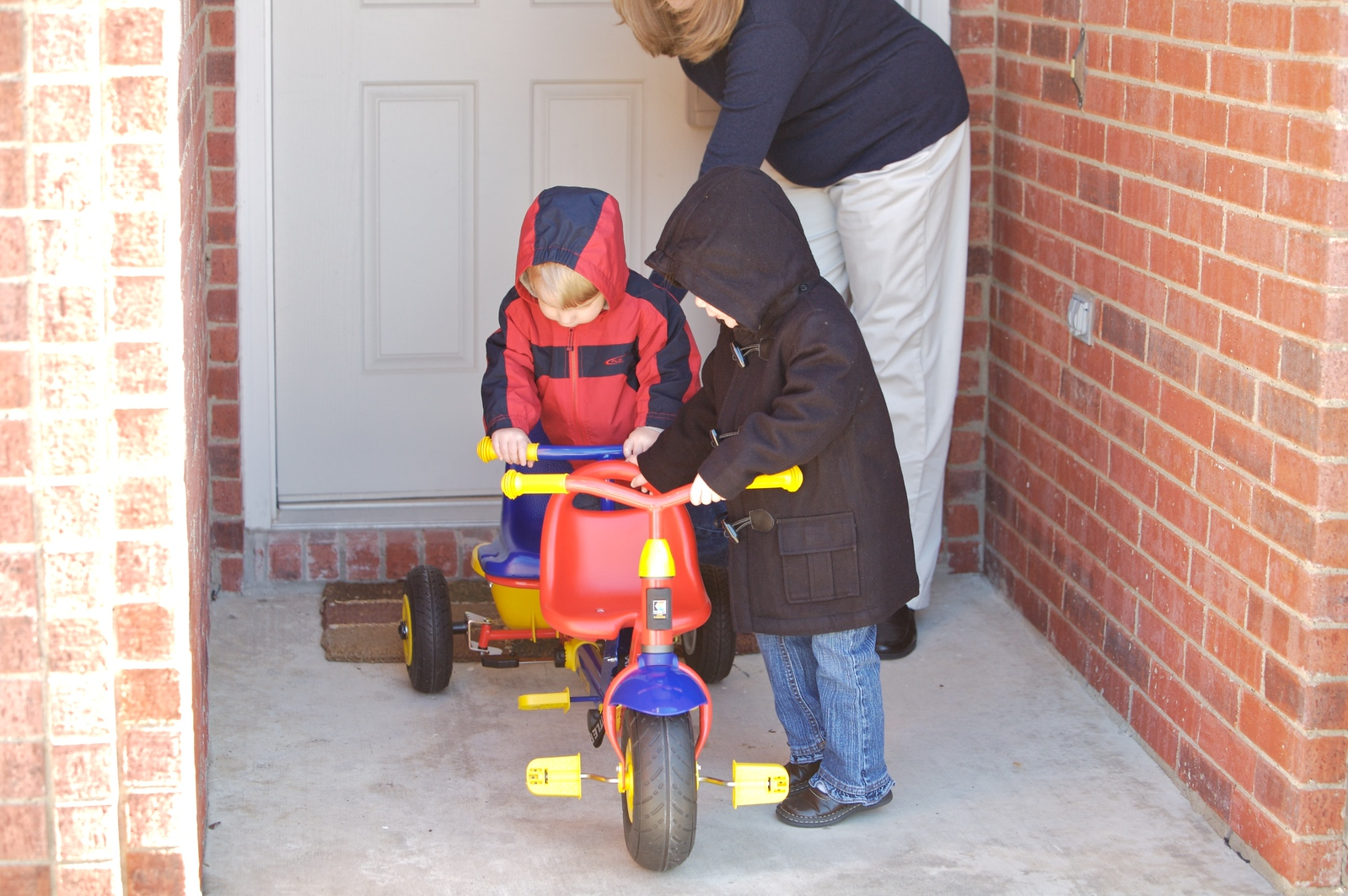 A tricycle built for 2!