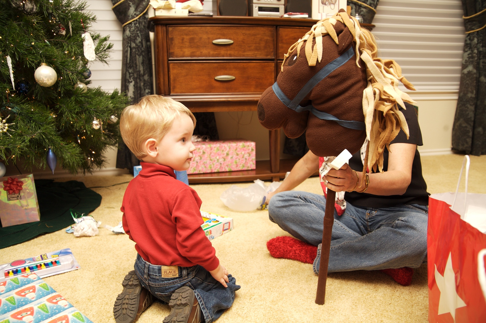 A hobby horse!!
