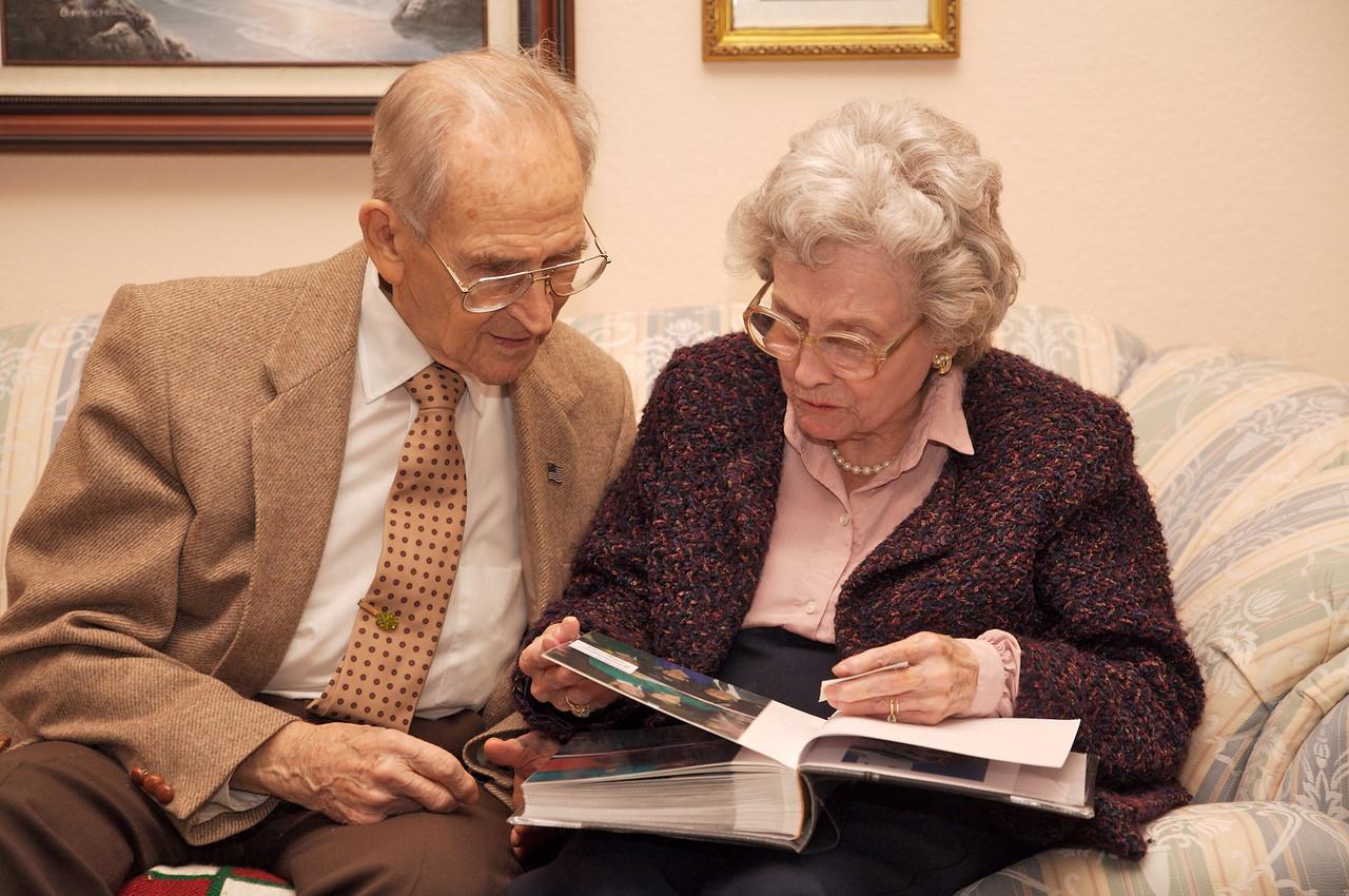 Great Grandma and Great Grandpa Williamson