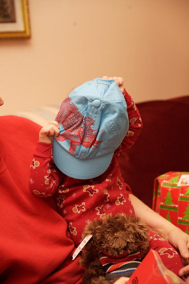 Peekaboo hat.