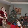 Santa comes to Nikos' caroling party!