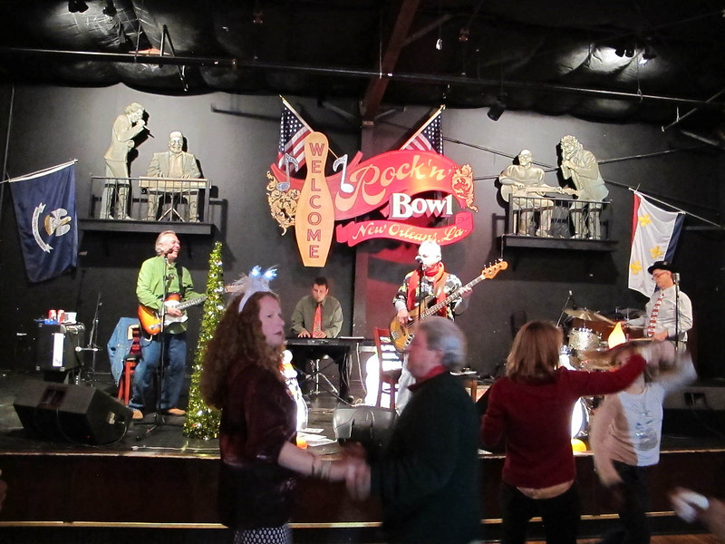 Benny Grunch at Rock and Bowl on Christmas Night
