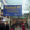 An advertisement in New Orleans airport. Of course this town would be #1 in LIVER transplants
