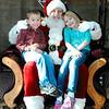 Keira & Connor w/ Santa Clause December  24, 2013